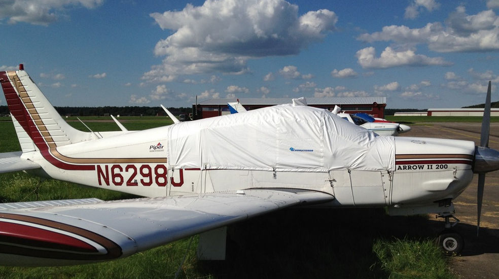 Aircraft cover / cockpit / for glass roofs - PA 28 - CLOUDDANCERS GbR