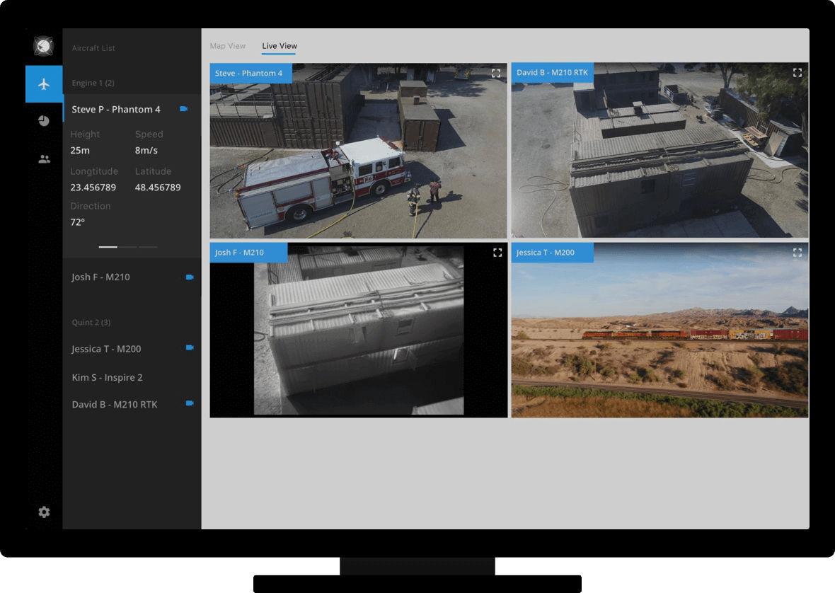 Mapping software / flight planning / data management / for drones FLIGHTHUB  DJI Innovations