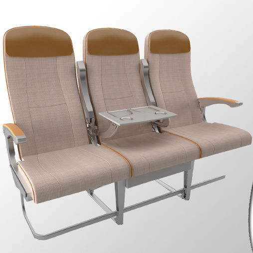 Aircraft Cabin Seat / Economy Class / Fabric / Leather   Piuma CVS