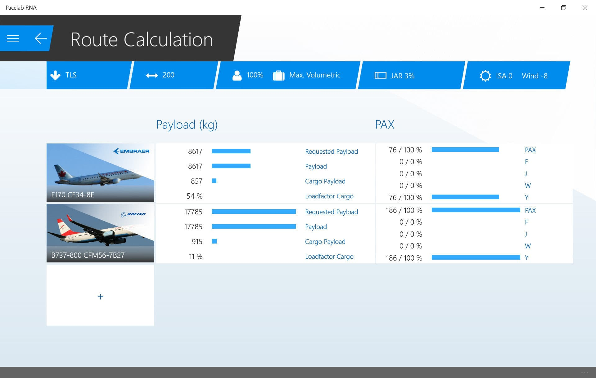 Analysis software / calculation / for aeronautics - RNA - PACE GmbH