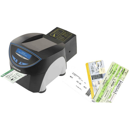 Boarding Pass Printer For Bag Tags Ticket For Airports Multi