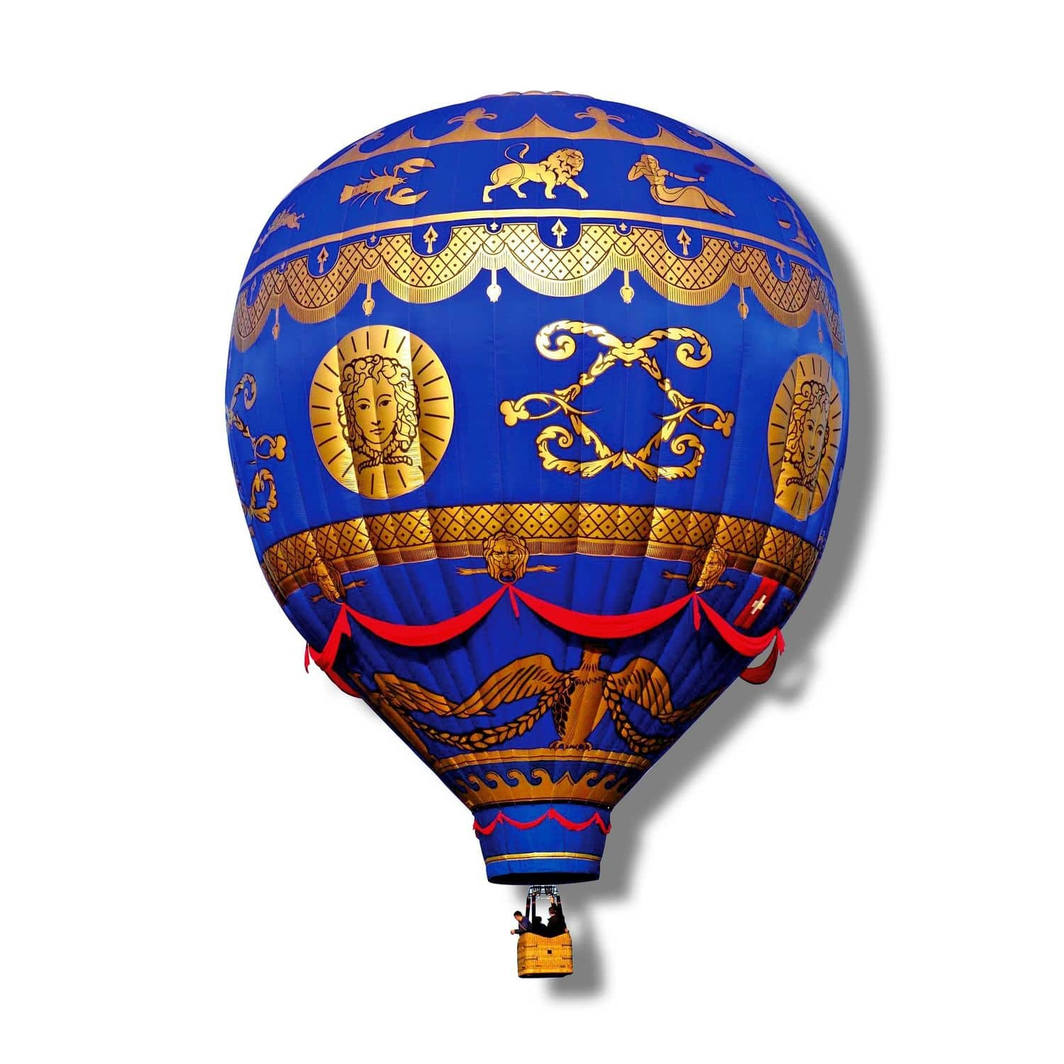 f1f869ecd682d advertising hot-air balloon   with basket   special event - Special Shapes