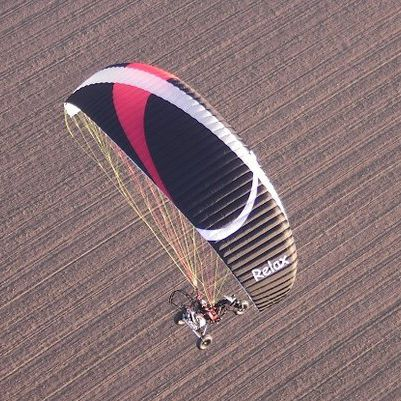 Performance paramotor wing / single - RelaX - Fresh Breeze