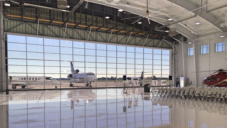Folding Hangar Door ...