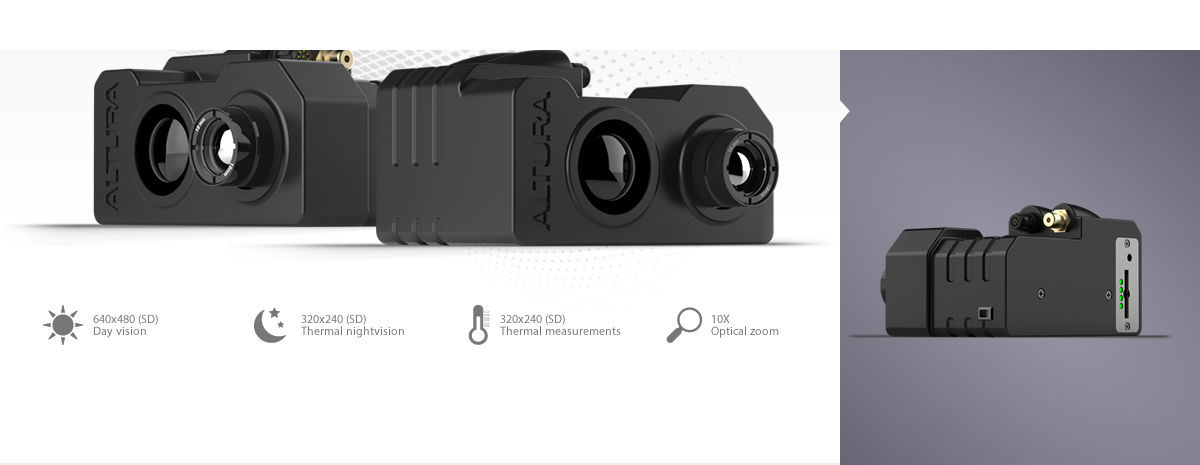 Thermal camera / for drones / high-resolution - Dupla Vista