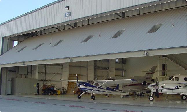 Genial ... Swing Hangar Door / Automatic ...