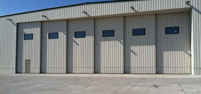 sliding hangar door / sectional / automatic - H-Series & Sliding hangar door / sectional / automatic - H-Series - Door ...
