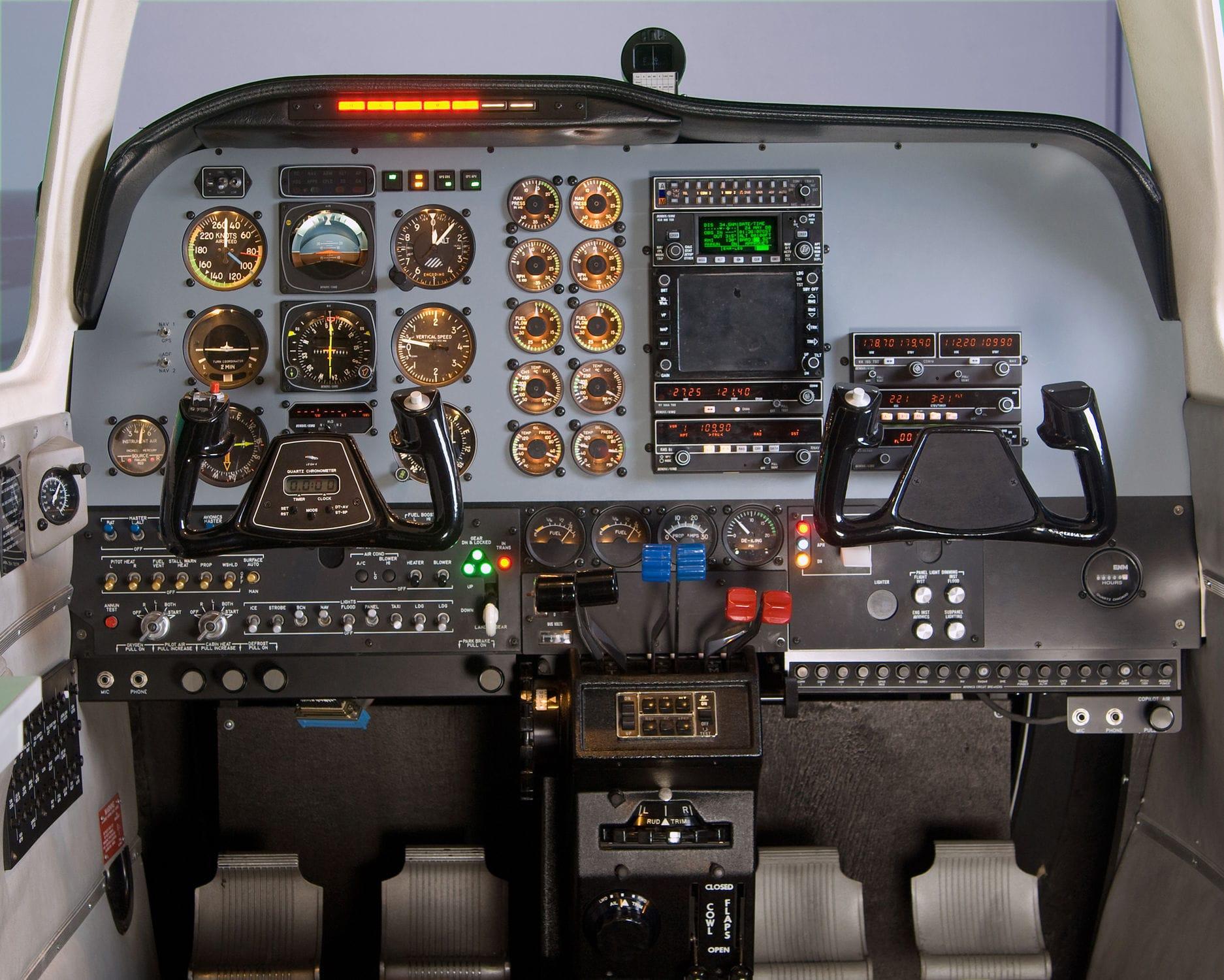 Flight simulator / cockpit SIMCOM Aviation Training