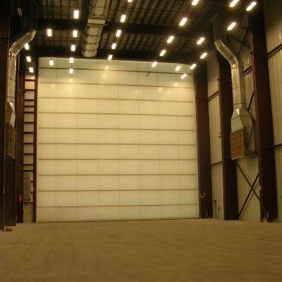 roll-up hangar door / fabric & Roll-up hangar door / fabric - International Door Inc - Videos