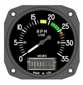 Analog tachometer - T19-801-E02U038 - UMA Instruments