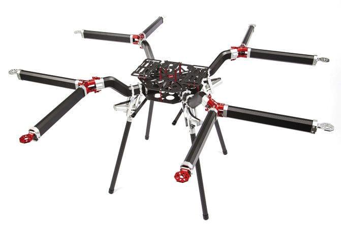 Aerial photography UAV / octorotor - OCTO - Gryphon Dynamics