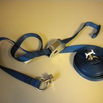 Cargo plane tie-down strap / polyester