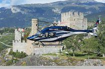 Single-rotor helicopter / transport / medical evacuation / surveillance