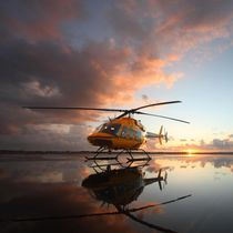 Single-rotor helicopter / transport / medical evacuation / turbine