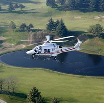 Single-rotor helicopter / transport / medical evacuation / utility operations