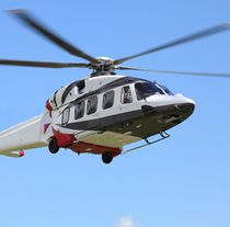 Single-rotor helicopter / transport / rescue / with turboshaft