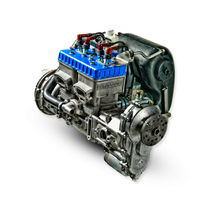 2-stroke piston engine / in-line / 2-cylinder / for ULMs