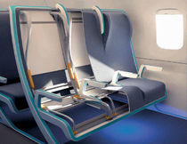 Aircraft cabin seat cover / artificial leather