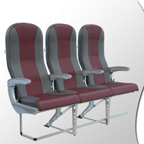 Aircraft cabin seat / economy class / leather