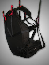Paramotor harness bag / single