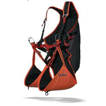 Paragliding reversible harness / monoplace / light / airbag