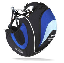Paragliding reversible harness / monoplace