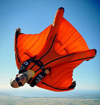Wingsuit suit / for skydiving