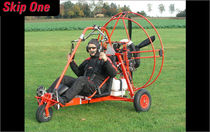 Single-seat ultralight trike carts / with engine