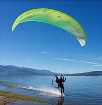 Sport paramotor wing / progression / monoplace