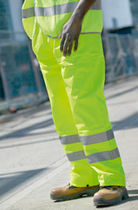 Work pants / firefighter / for ground support personnel / waterproof