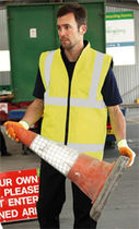 Work clothing / jacket / for airport runways / for ground support
