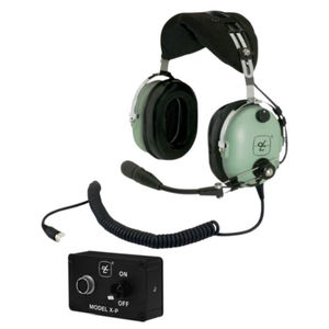 fc9af0f9cc1 Aircraft headset   for pilots   noise-reduction   lightweight - DC ...