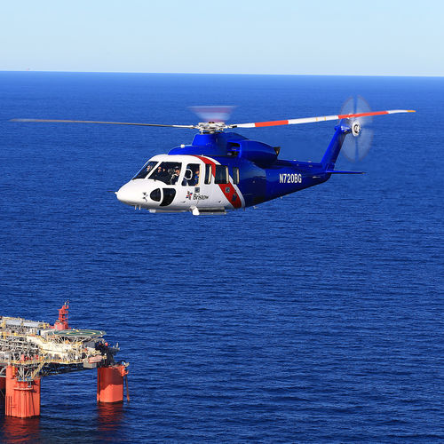 Single-rotor helicopter / civil transport / business / offshore S-76 series LOCKHEED MARTIN CORPORATION