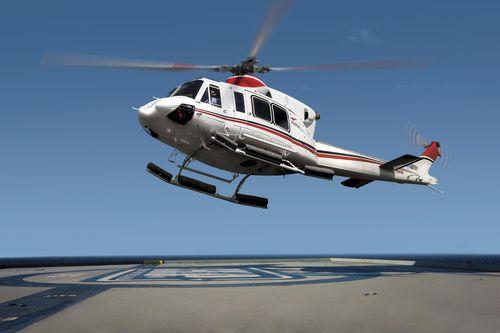 Single-rotor helicopter / transport / surveillance / medical evacuation Bell 412EPI BELL HELICOPTER