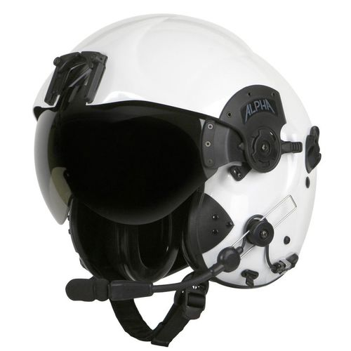 flight attendant helmet / half jet / with visor / fire protection