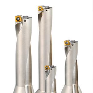 metal drill bit / for aeronautics / insert