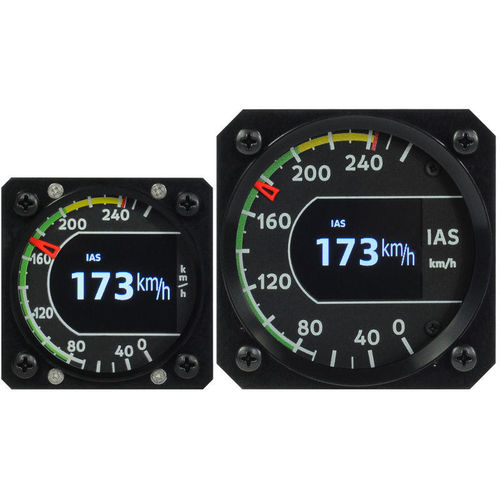 aircraft airspeed indicator / electronic