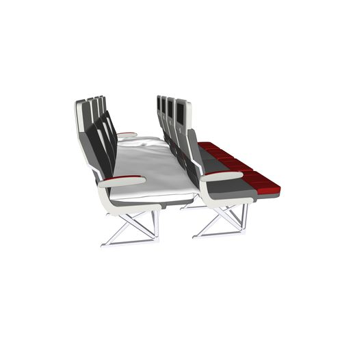 Aircraft cabin seat / economy class Piuma Sofà Geven SpA