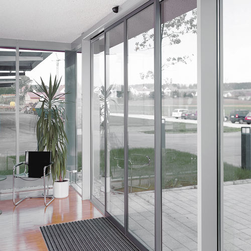 airport security interlocking door / for access control / automatic / double