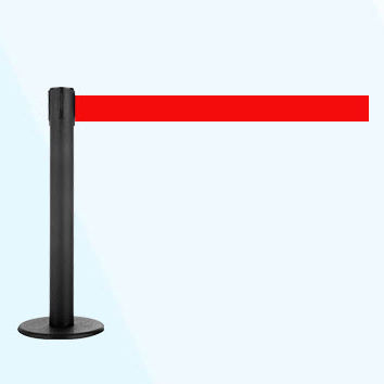 tape guidance barrier / flat-head / for airports