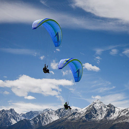 performance paraglider / rescue / single