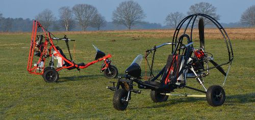 single-seat ultralight trike cart / with engine
