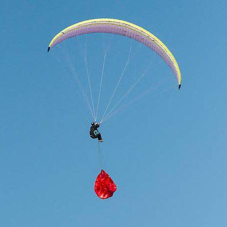 rescue parachute / single