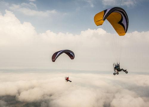 Acrobatic paramotor wing / monoplace Pegasus GIN Gliders