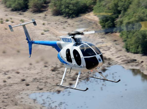 utility helicopter - MD Helicopters