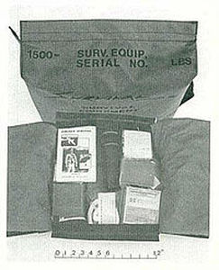 Aircraft first aid kit - Survival Products, Inc