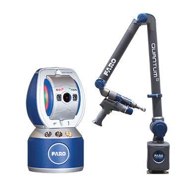 parts measurement laser tracker / for the aerospace industry