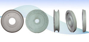 cutting grinding wheel / cylindrical / CBN / diamond
