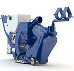 walk-behind cleaning machine / for surface cleaning / for rubber removal / shot blasting
