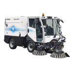 ride-on sweeper / compact / electric / for airports